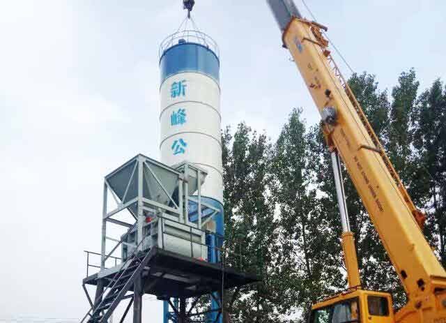 XINFENG's 60m3/h Concrete Batching Plant are stationed in Singapore